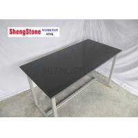 Flat Edge Chemistry Lab Table Tops , School Science Laboratory Furniture