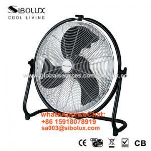 Quality 18 inch high velocity floor fan for office and home appliances/Ventilador de piso de alta velocidad for sale