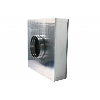 Buy cheap Cleanroom Terminal HEPA Filter Housing Cassette H13/ H13 HEPA Filter Boxes from wholesalers