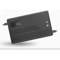 Quality Portable 180W E Scooter 48v Ebike Smart Charger With Cooling Fan for sale