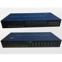 Quality HDMI Matrix Switch 8x8 Over 50M Cat5E Extender With IR Support 3D for sale