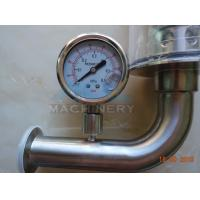 Quality SS304 SS316L Sanitary Pressure Air Relief Safety Valve Flow Diversion Valve for sale