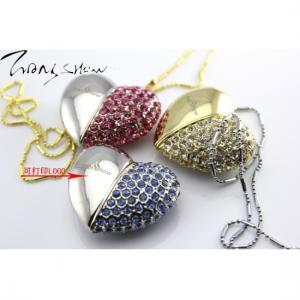 Quality Jewelry/metal heart shape usb pendrive (mini) 4GB,8GB,16GB,32GB for sale