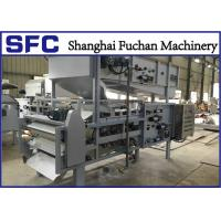 Quality Sludge Dehydrator Sewage Treatment Machine Stainless Steel Structure CE Certification for sale
