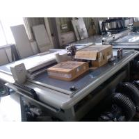 Quality Brunt Model Carton Box Making Machine / Cardboard Cutter Machine For Leather for sale