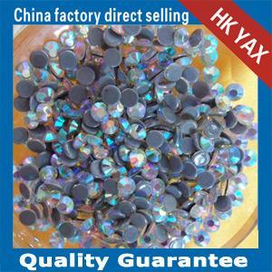 Fashion shiny hotfix rhinestone ;high quality crystal rhinestone hotfix;hot fix rhinestone for clothing strong glue