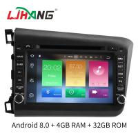 Quality Android Flip Out Car Dvd Player With Gps , 4*50W Car Dvd Player For Honda Odyssey for sale