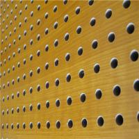 China KTV Perforated Wood Acoustic Panels MDF Soundproof Acoustic Board on sale