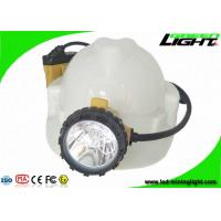 China Underground Coal Mining Lights 25000lux 10.4Ah Rechargeable Samsung Battery on sale