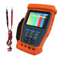 Best RS485 / RS232 / RS422 CCTV Tester with Digital Multimeter, 12VDC Output wholesale