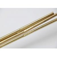 Quality Copper Zinc Filler Metal Brass Brazing Rod Required Length HS221 Model for sale