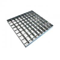 Buy cheap Press Welded Mild Steel Grating For Drainage Channel Bearing Bar  25*2 MM from wholesalers