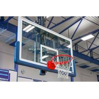 China Safety Fully Temepered Glass Basketball Backboard Outdoor Basketball Hoops on sale
