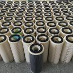 FORST Industrial Polyester Media Hepa Air Filter Cylinder Cartridge Manufacturer