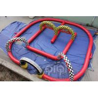 Quality Inflatable Go Kart Track for sale