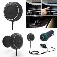 Quality AUX Bluetooth 3.5mm Audio Output Receiver Car Kit Handsfree calling for sale