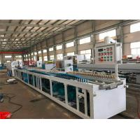 China Window Door PVC Profile Extrusion Line , Plastic Profile Production Line on sale