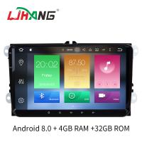 """Quality Android 8.0 B6 Jetta Volkswagen DVD Player 9"""" Screen Steering Wheel Control for sale"""