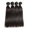 Double Machine Weft Virgin Human Hair Bundles Long Straight Hair ExtensionsFor Thin Hair for sale