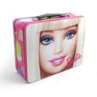 Quality trendy rectangular lunch tin box for cosmetic for sale