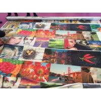 Quality 100% Polyster Digital Printing Fabric Tatting Weave Sublimation Coating for sale