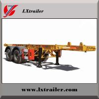 Best China factory selling 3 axles container skeleton semi trailers wholesale