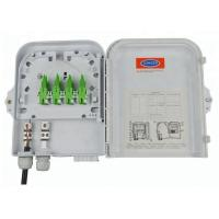 Quality Outdoor 8 Port Wall Mounted Fiber Optic Terminal Box / FTTH Distribution Box for sale