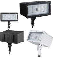 Quality Industrial Commercial Outdoor LED Flood Light Fixture 45W 100Lm/w Kunckle Installation for sale