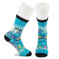 Buy Breathable Eco - Friendly 3D Printed Socks For Adults Custom Made Size at wholesale prices