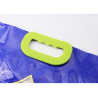 Buy cheap Solid Carry Weight Plastic Bag Handles Clasp Type With 6 Holes Fasten On Rice from wholesalers