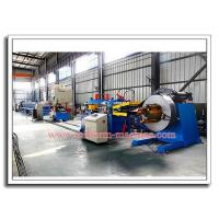 Quality Mild Steel Shelving Roll-Form Profile Post Making Machine with De-coiler, Roll Former, Auto Puncher and Cut-off Device for sale