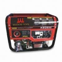 Quality Gasoline Generator with 50Hz Rated Frequency, 2.8kW Rated Power and 3.5kW Maximum Power for sale