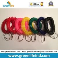 Quality Spiral Wrist Badge Accessories Colorful Elastic Bands for sale