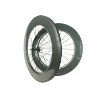 700C 88mm Carbon Wheels , Carbon Disc Road WheelsHand - Built WIth R13 Hub