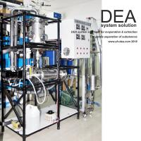 Quality High Vacuum Evaporation Machine / Fractional Molecular Distillation Equipment for sale