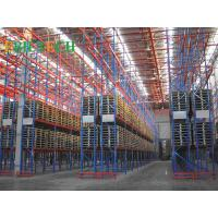 Quality ISO  Storage VNA Racking System , Commercial Automatic Narrow Aisle Pallet Racking for sale