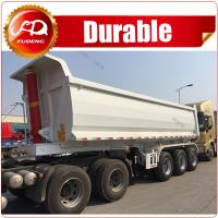 Quality China Made Hot Sale New Design 3 Axle 80Ton Multi-function Rear Dump Trailer for sale for sale