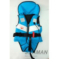 Quality Navy Blue White Color 210D/420D Nylon Fashion Leisure Life Jacket Child buoyancy float for sale