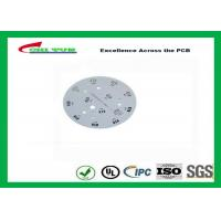 Quality Electronic Aluminum PCB Manufacturer for LED lighting White Solder Mask Rould PCB for sale