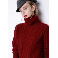 Quality Panel Style Womens Knit Sweater Cashmere Spandex Material Premium Quality for sale