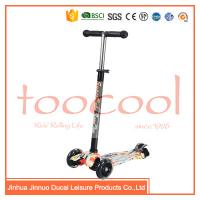 Quality chinese 4 wheel kids children micro maxi plastic kick scooter for sale