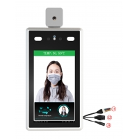 Quality AI Intelligent Contactless Temperature Measurement 7 inch Face Recognition' Temperature Measuring for sale