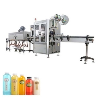 Quality PVC sleeve shrink applicator labeling machine for round bottle glass bottle tin cans for sale