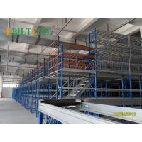 Quality Warehouse  Mezzanine Racking System  Multi Layers Medium Duty SGS Approved for sale