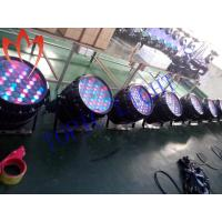Quality 13 Channel Waterproof Stage Par Lights , RGBW 54 x 3w Zoom Professional Stage Lighting for sale