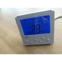 Quality Button Control Fan Coil Unit Thermostat LCD Display With Electric Heater Function for sale