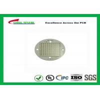 Quality Single-side Aluminum Core LED Light PCB Board 1.6mm Immersion Gold for sale