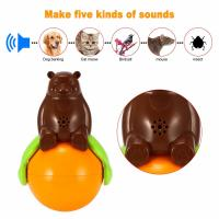 Quality Inventions Pet Tumbler Toy Sound And Light Ball five kinds of sounds for sale