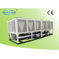 Quality 632kw Modular Air Cooled Screw Chiller / Air Conditioning Chiller CE Approvals for sale