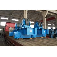 Conventional Pipe Welding Rotator 60T for Wind Tower Pole Painting , Metallic Roller